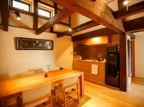 【客室 流水】蔵(離れ)のキッチン