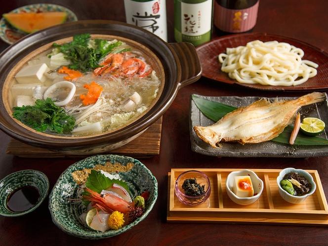 【冬が旬】日本海鍋コース料理イメージ(提携店:魚志楼)