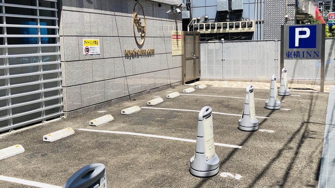 駐車場5台完備(お電話にて要予約)