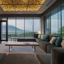 【ペントハウスB】羊蹄山と森林に囲まれ、より自然を感じられるお部屋です。