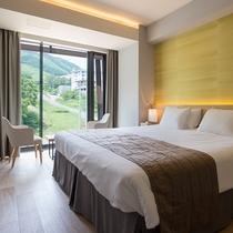【2ベッドルームB リゾートビュー】グランヒラフスキー場に面したお部屋です。