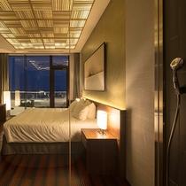 【ペントハウスA】5つのベッドルームをご用意しております。