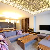 【レジデンスA】純和風のデザインに、こだわりのオーダーメイド家具を揃えました。