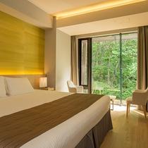 【2ベッドルームA フォレストビュー】間近に緑を感じて頂けるお部屋です。