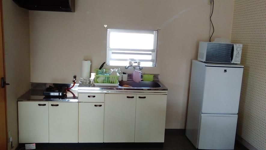 キッチン 冷蔵庫 レンジ