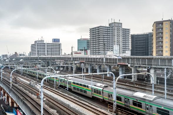 【JR赤羽駅】鉄道好きにはたまらない☆彡新幹線をはじめ同時に複数路線が楽しめる鉄ちゃんプラン!