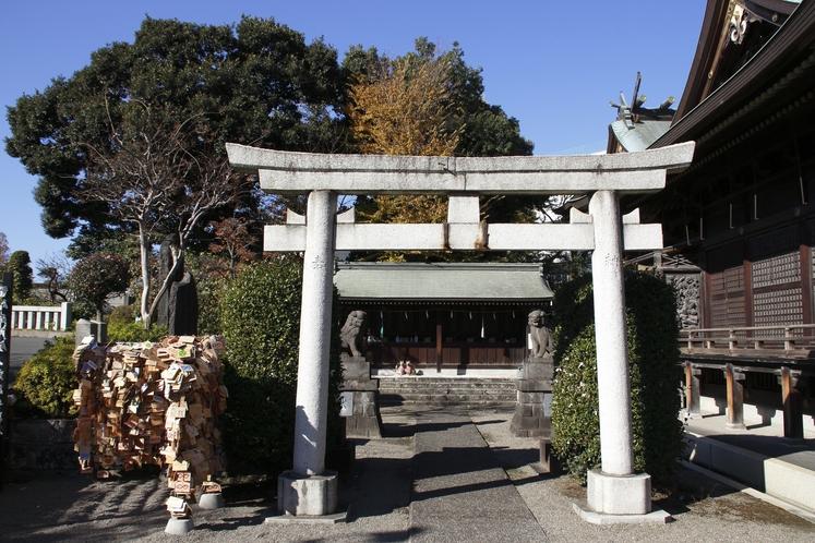 赤羽八幡神社(古峯神社と末社)