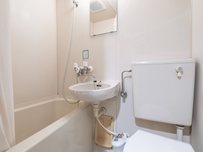 セミダブルルーム バス・トイレ