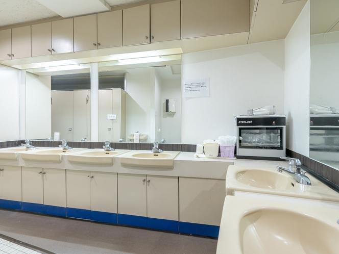 カプセル 洗面所 Washroom is for only capsule room