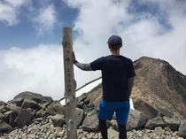 乗鞍岳剣ヶ峰山頂