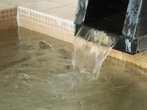 月山の天然水を沸かしたお湯