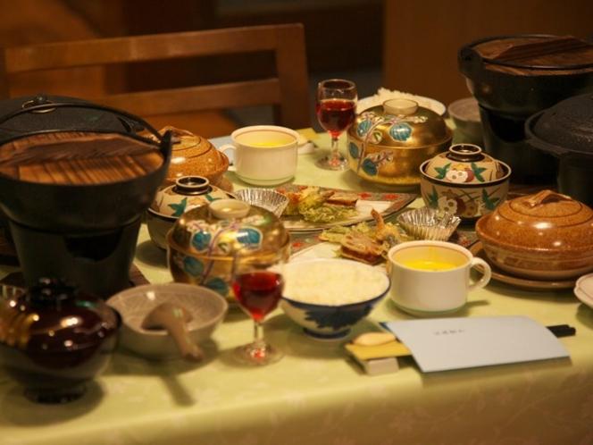 夕食 和食膳