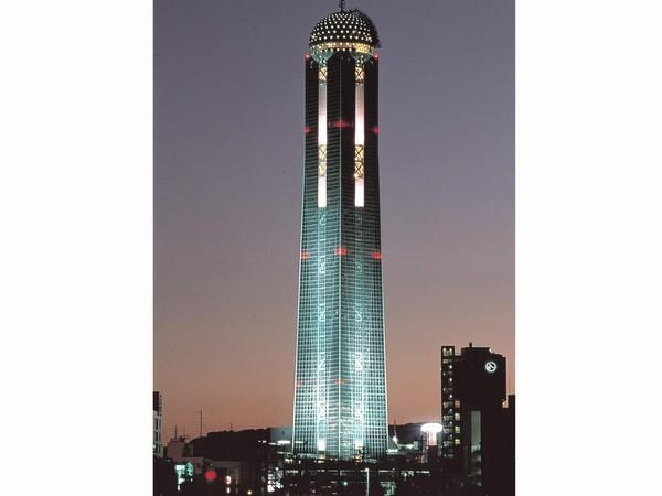 下関 海峡ゆめタワー(夜)