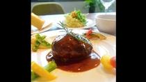 *【レストラン/珊瑚テーブル】珊瑚table ハンバーグセット