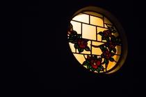椿ステンドグラス
