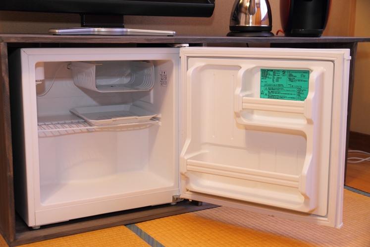 客室の冷蔵庫