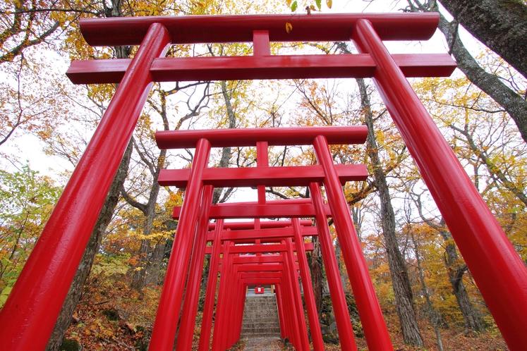 山中湖の稲荷神社
