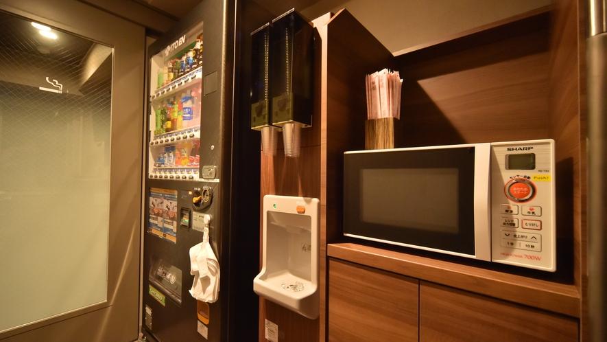 ◆電子レンジ◆ 3階・6階・9階にご用意しております。