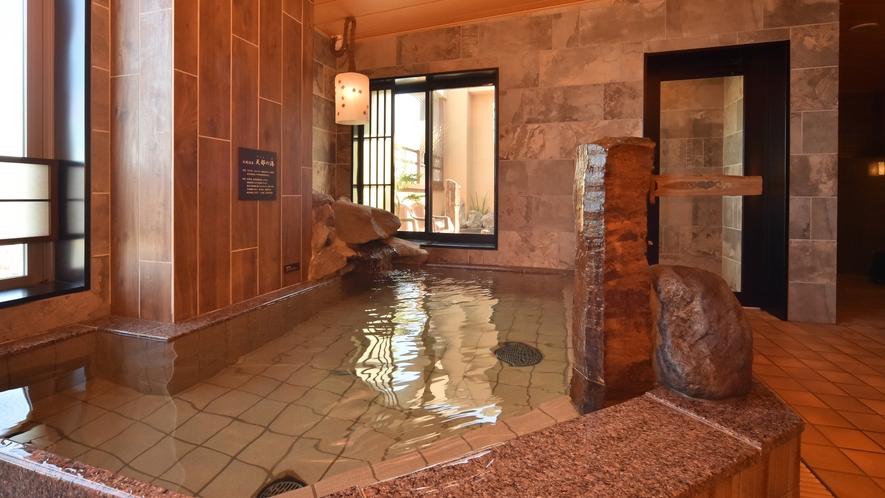 ◆男性大浴場【内湯】◆ (湯温41℃~42℃)