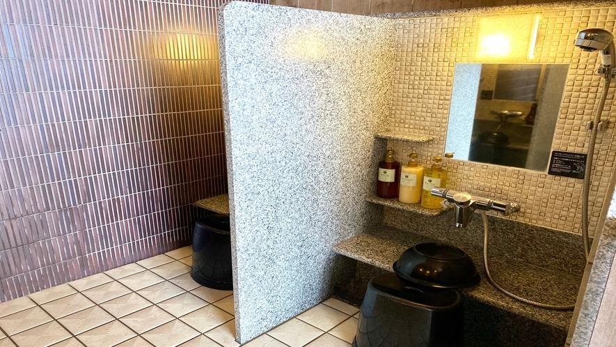 ◆女性大浴場洗い場◆(カラン数:5箇所)