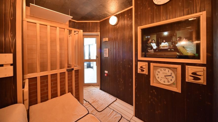 ◆女性大浴場TV完備ドライサウナ◆ (深夜1:00~5:00の間停止)