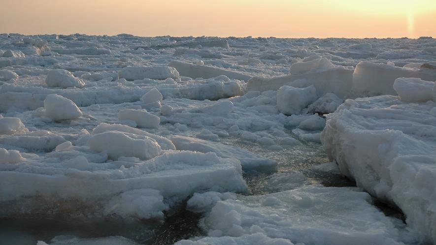 ♦オホーツク海流氷♦