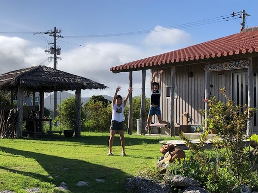 【楽天トラベルセール】 ポニーさんにも会える宿☆北部南部観光便利♪一棟貸し、広々としたお庭付