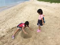 そけいの海で、なにがいるかな♪ 子供たちはいつでも冒険。