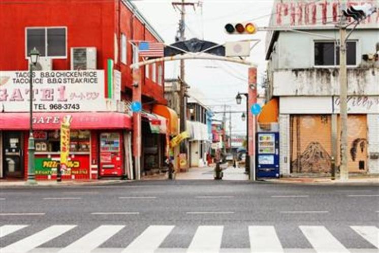 宜野座村のお隣の金武町。タコライスは有名です♪