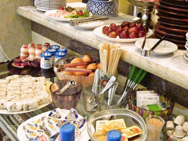 朝食は好きなものをお召し上がりいただくスタイル♪