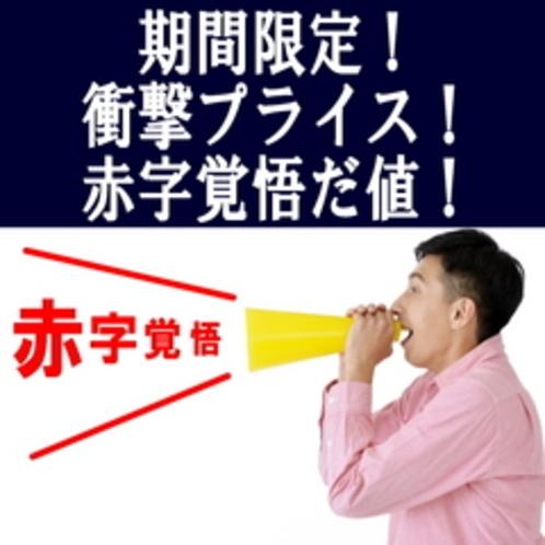 【期間限定】赤字覚悟だ値!スペシャルプライスプラン★