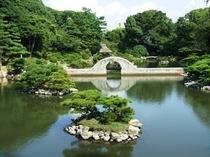 【縮景園】1620年に浅野家別邸の庭として作られました!