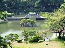 【縮景園】毎年5月には茶摘会があり、手作りの新茶が味わえます♪