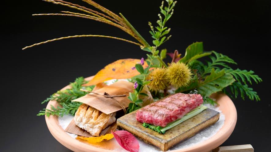 秋の口福プラン料理