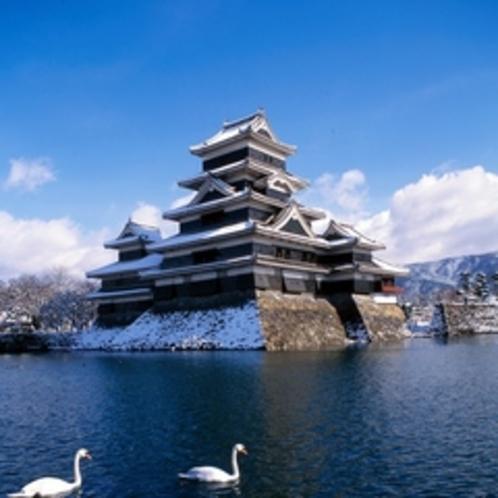【松本城③】冬の松本城