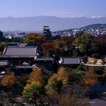 松本城イメージ 秋