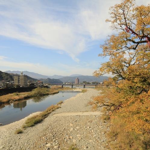 人吉市内を流れる球磨川