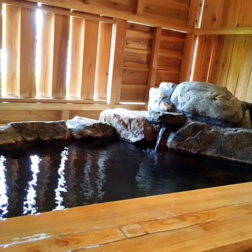 【檜風呂】専用風呂付き部屋の温泉