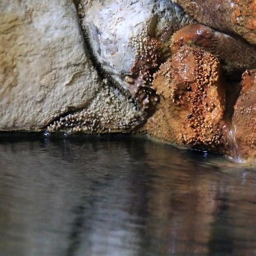 【温泉】炭酸イオンをたっぷりと含んだ自家源泉かけ流しの還元系温泉です。