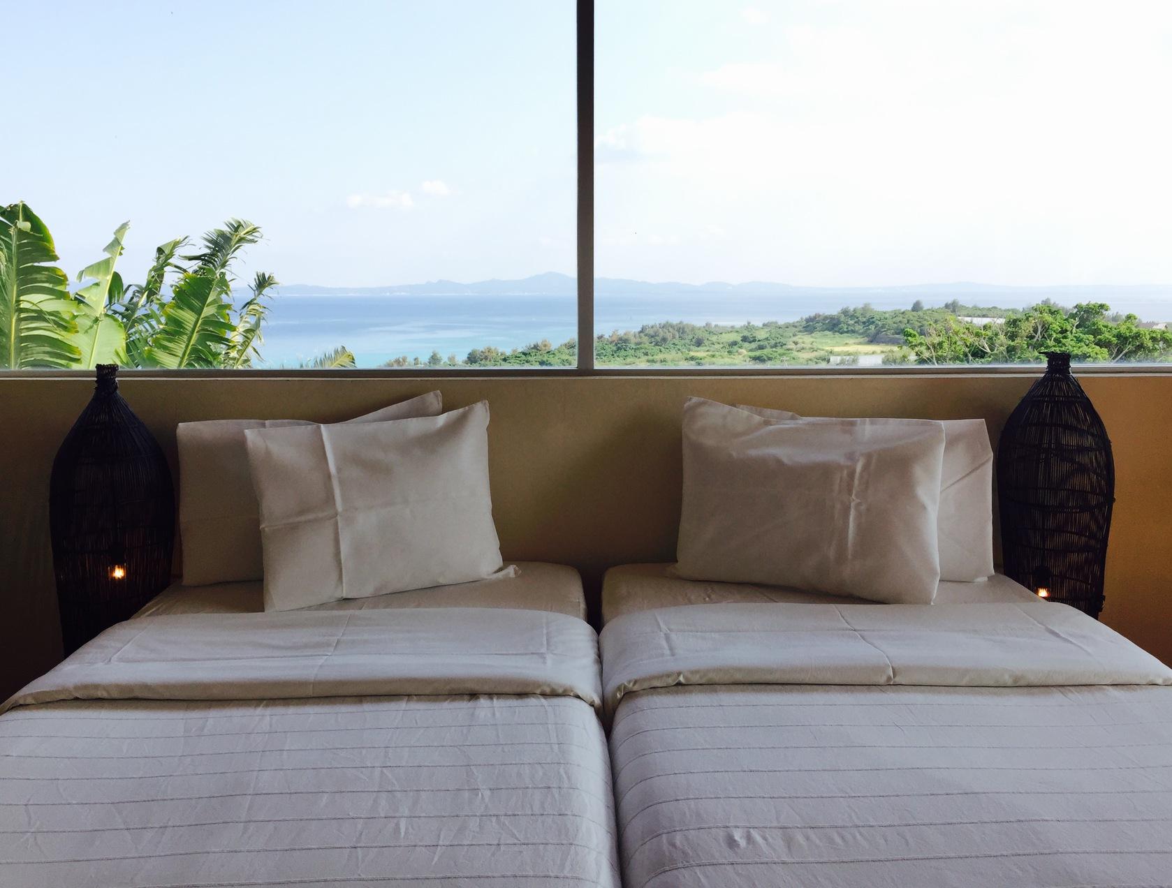二人だけの絶景ベッド
