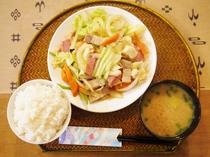 【料理】野菜いため定食