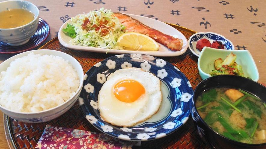 【料理】体に優しい朝食。美味しい朝食で元気に一日の始まりを♪