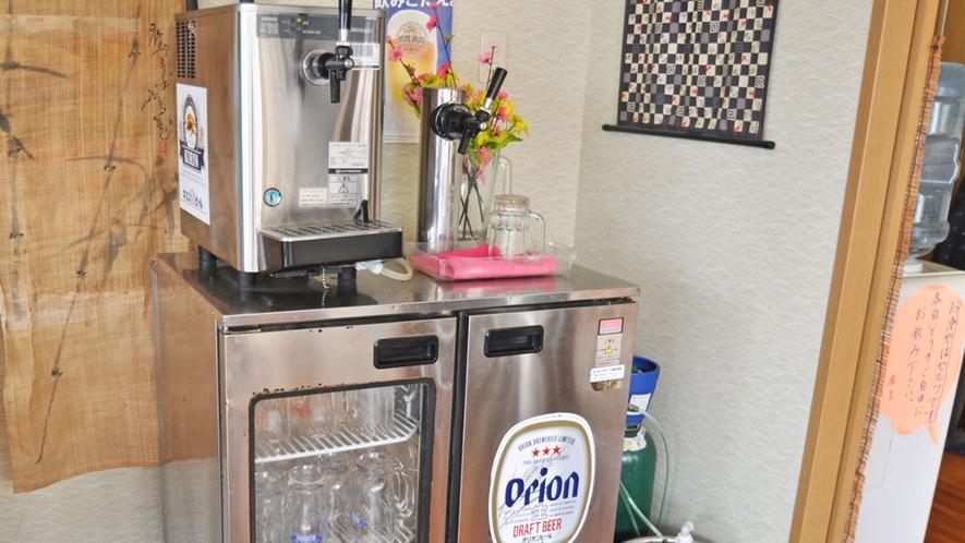 【食堂】沖縄生まれの『オリオンビール』はいかがですか?キリン淡麗生や、島酒もご用意しております♪