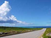 【周辺】西海岸。美しい海岸線が続きます。