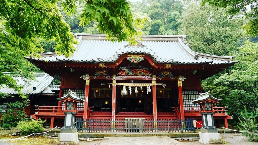 【伊豆山神社】