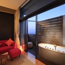 最上階露天風呂付きツイン和室