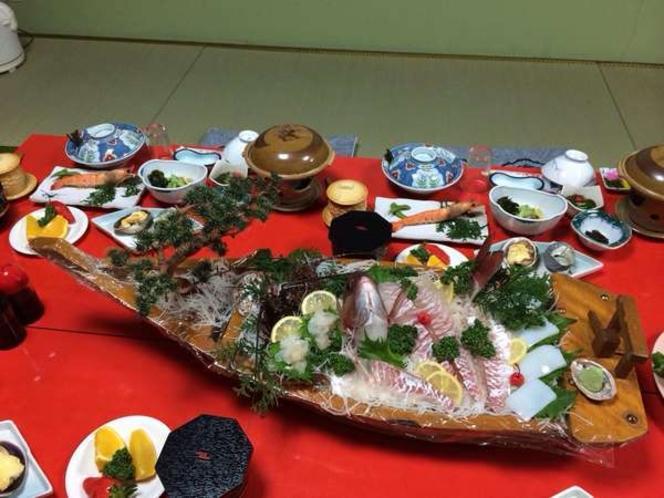 鯛舟盛 10800円プラン