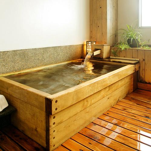 ●カップルやお子様連れに人気の【貸切風呂*萩指月温泉】