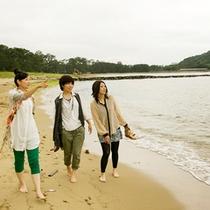 ● 萩の絶景癒しスポット・菊ヶ浜海岸を散策