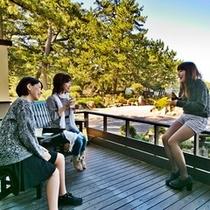 ●菊ヶ浜の情景と自然のマイナスイオン波の音・潮風を感じながら笑顔もはじける♪